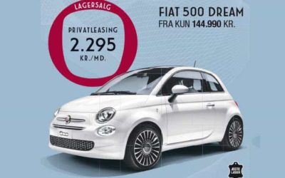 FIAT 500 DREAM PRIVATLEASING