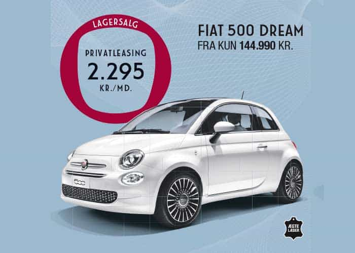 FIAT 500 DREAM PRIVATLEASING