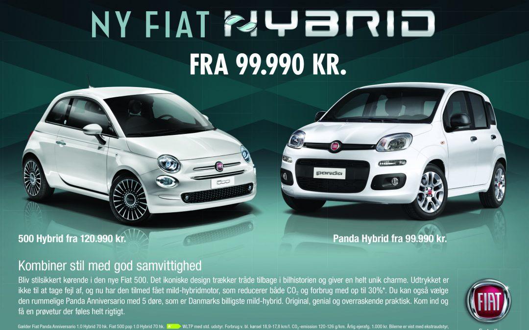 Fiat 500 og Panda hybrid