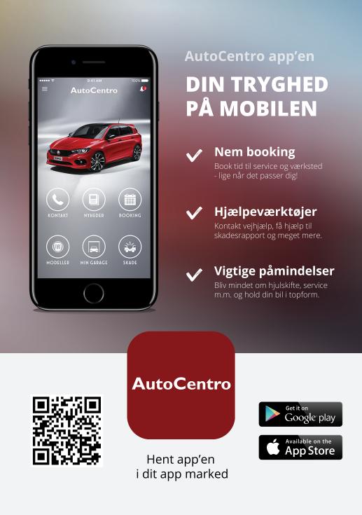 værkstedsabonnement - Serviceaftale bil - AutoCentro App