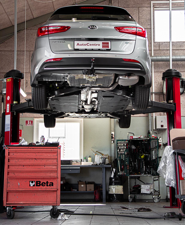 værkstedsabonnement - Serviceaftale bil